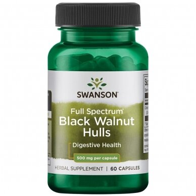 BLACK WALNUT 500 MG N60