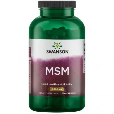 MSM 1000 MG N120