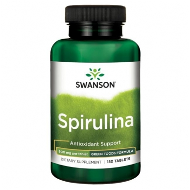 SPIRULINA 500MG N180