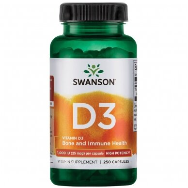 VITAMINAS D3 1000TV N250