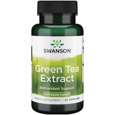 Žaliosios arbatos ekstraktas N60